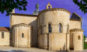 L' église Saint Martin de Landiras
