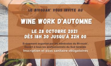 WINE WORK au Bivouak'